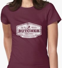 The Bay Harbor Butcher (worn look) Womens Fitted T-Shirt