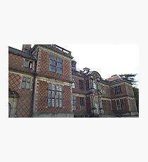 National Trust Sudbury Hall, Derbyshire Photographic Print
