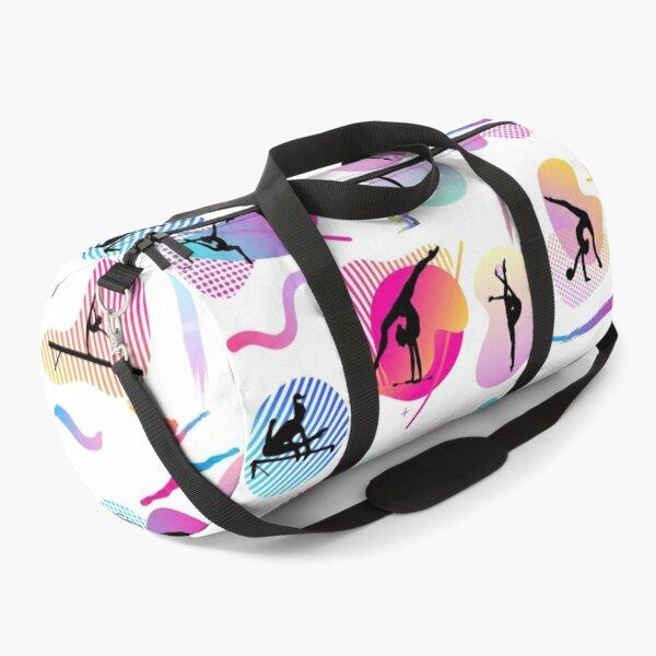 Gymnastics print  Duffle Bag