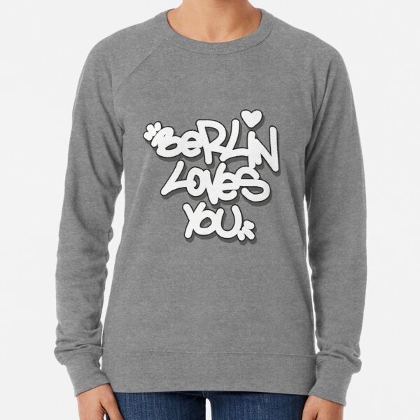 Berlin loves you Leichter Pullover