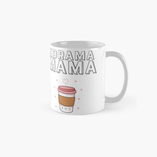 Kdrama Mama Who Loves Coffee or Tea Classic Mug