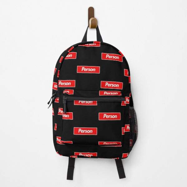 Person Family Name -  Person Backpack