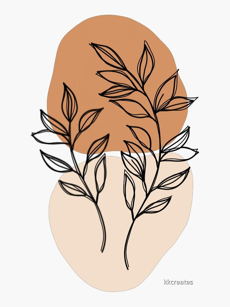 Boho Leaves by kkcreates