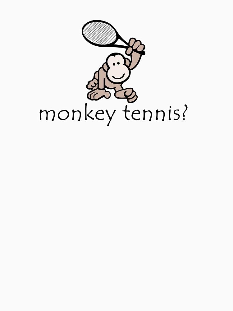 Monkey Tennis? | Unisex T-Shirt