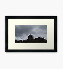National Trust Corfe Castle Framed Print