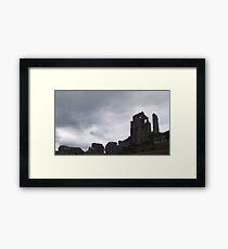 National Trust, Corfe Castle Two Framed Print