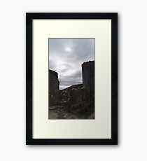 National Trust Corfe Castle Three Framed Print