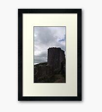 National Trust Corfe Castle Four Framed Print