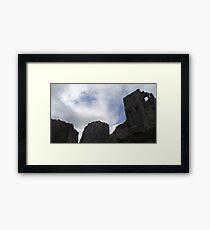 National Trust Corfe Castle - Five Framed Print
