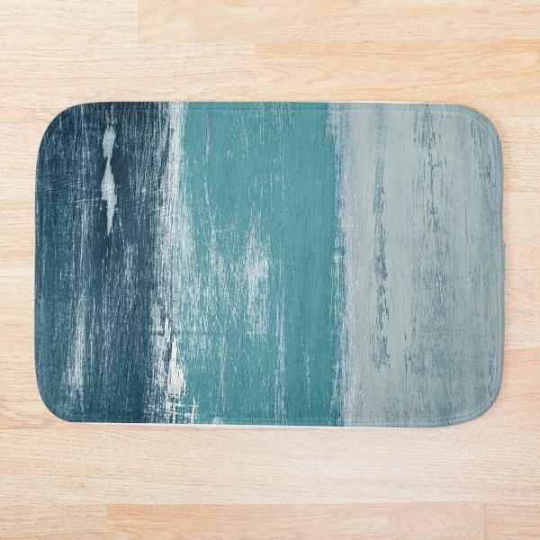 Reclaimed Wood (blue) Bath Mat