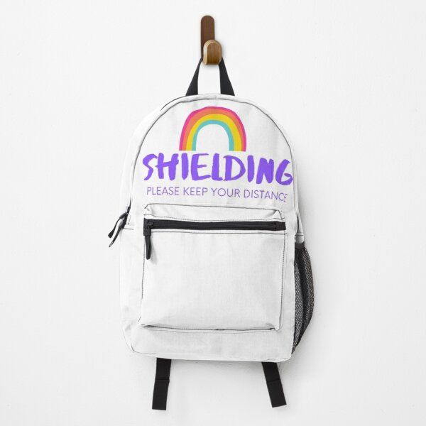 Shielding - please keep your distance - social distance Backpack