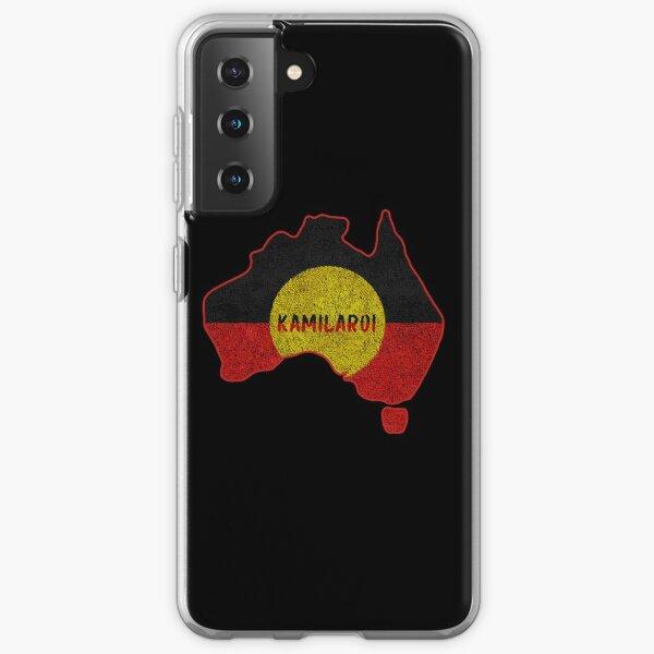 Aboriginal Map Kamilaroi Samsung Galaxy Soft Case