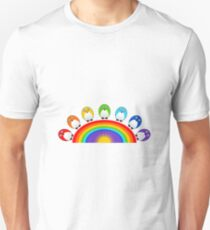 Little Cute Rainbow Birds T-Shirt