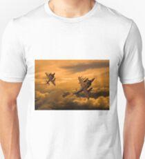 Harriers Sunset High Unisex T-Shirt