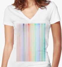 Pencil Women's Fitted V-Neck T-Shirt