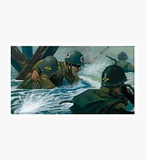 Rangers Lead the Way! (Digital Illustration)  Photographic Print