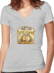 Carter's Quick Release Women's Fitted V-Neck T-Shirt