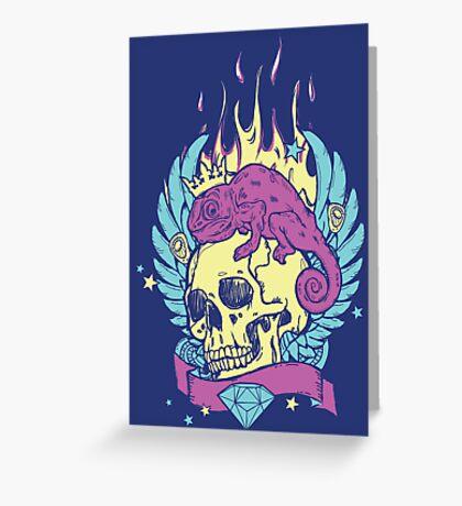 Skull Tee Greeting Card