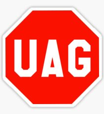 UAG Stop Codon Sign Sticker