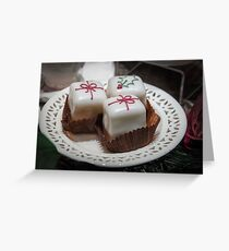 Christmas Parcel Cakes Greeting Card