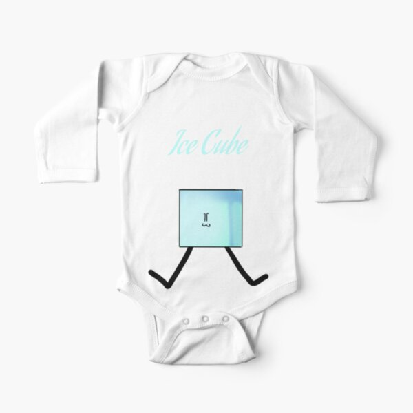 Ice Cube from BFB Long Sleeve Baby One-Piece