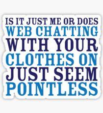 Web Chatting Sticker