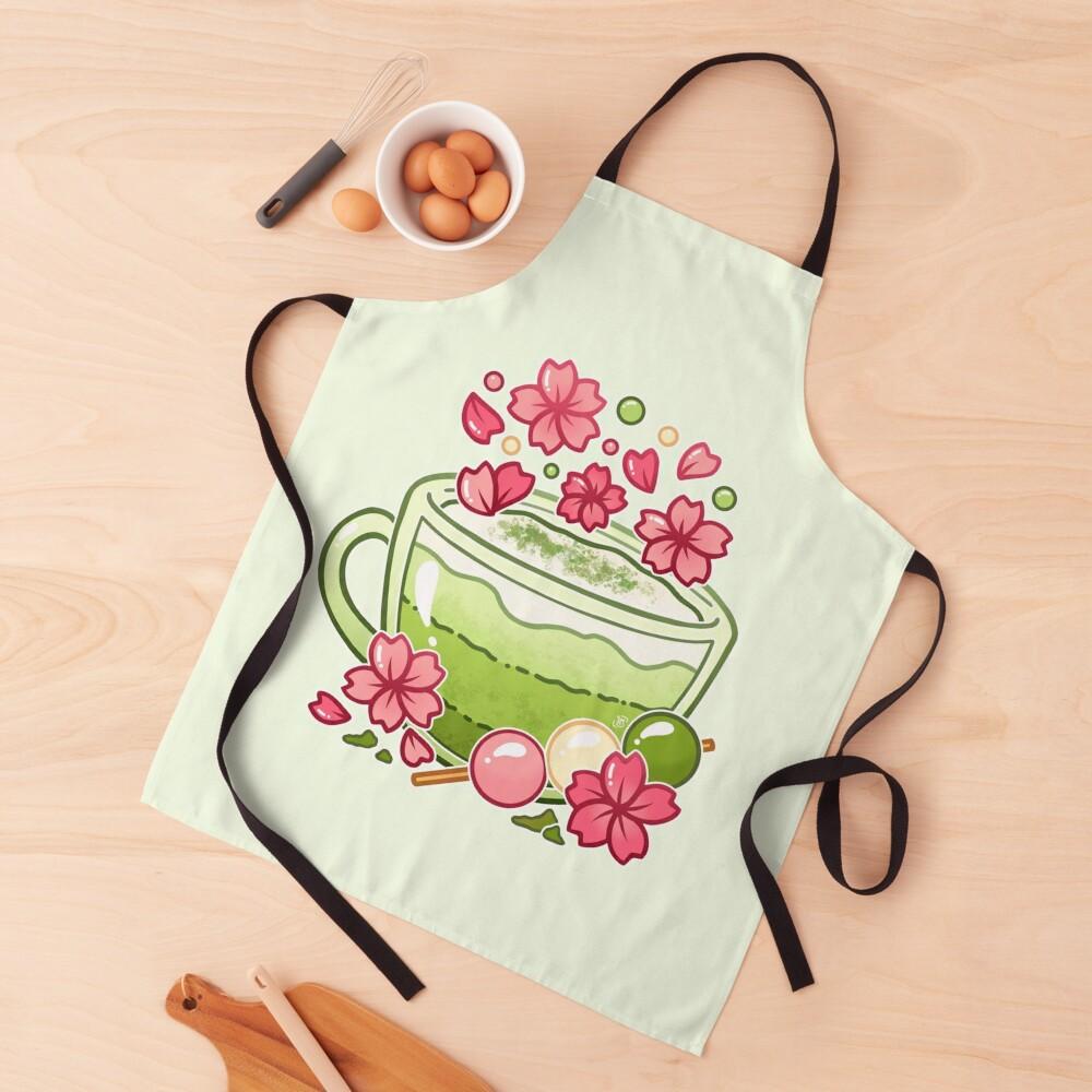 Sakura Matcha Tea Apron