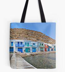 Klima - Milos island Tote Bag
