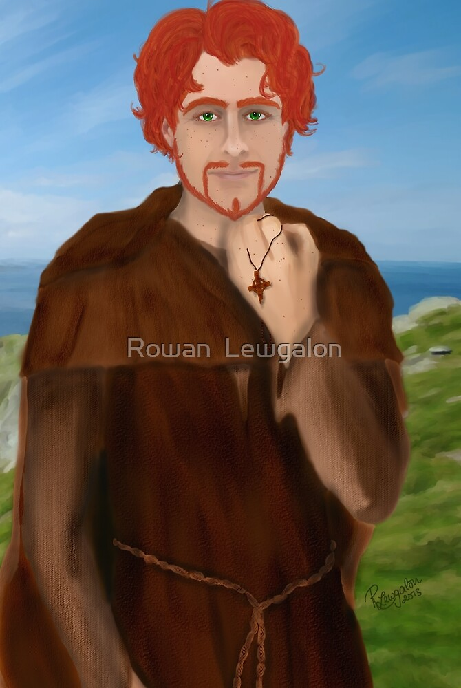 Comgall of Bangor  by Rowan  Lewgalon