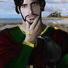 Saint Oswald of Northumbria by Rowan  Lewgalon