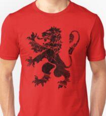 Black Lion Rampant Unisex T-Shirt