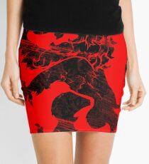 Black Lion Rampant Mini Skirt