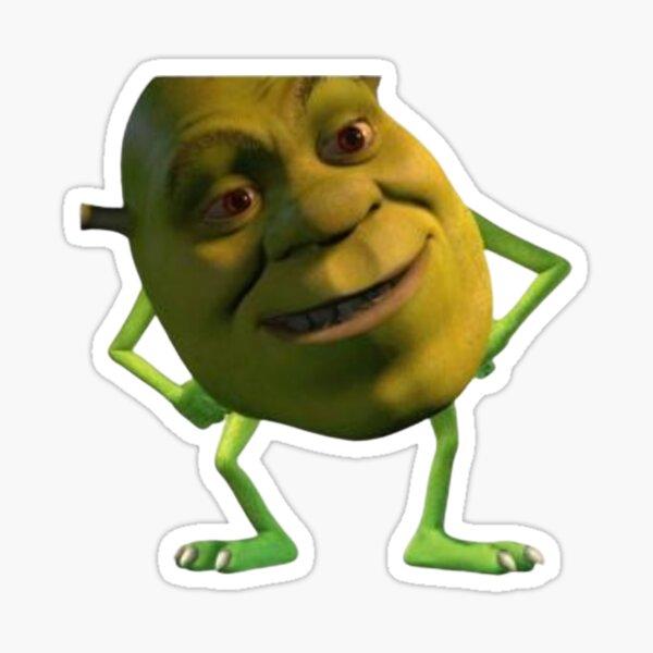 Shrek Meme Stickers Redbubble