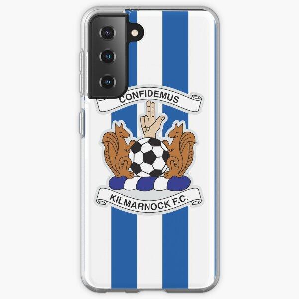 Kilmarnock football club logo - Stripes Samsung Galaxy Soft Case