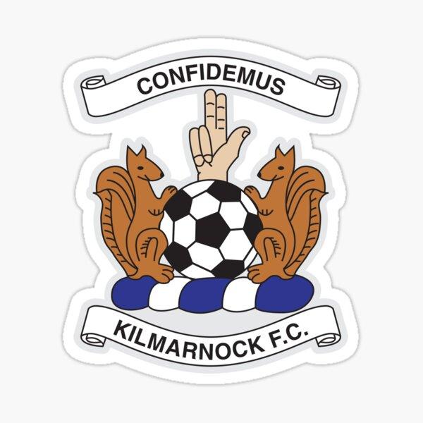Kilmarnock football club logo - Stripes Sticker