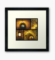 There Is A Light At The End Of The Tunnel! Framed Print