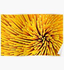 Spaghetti, italian food Poster