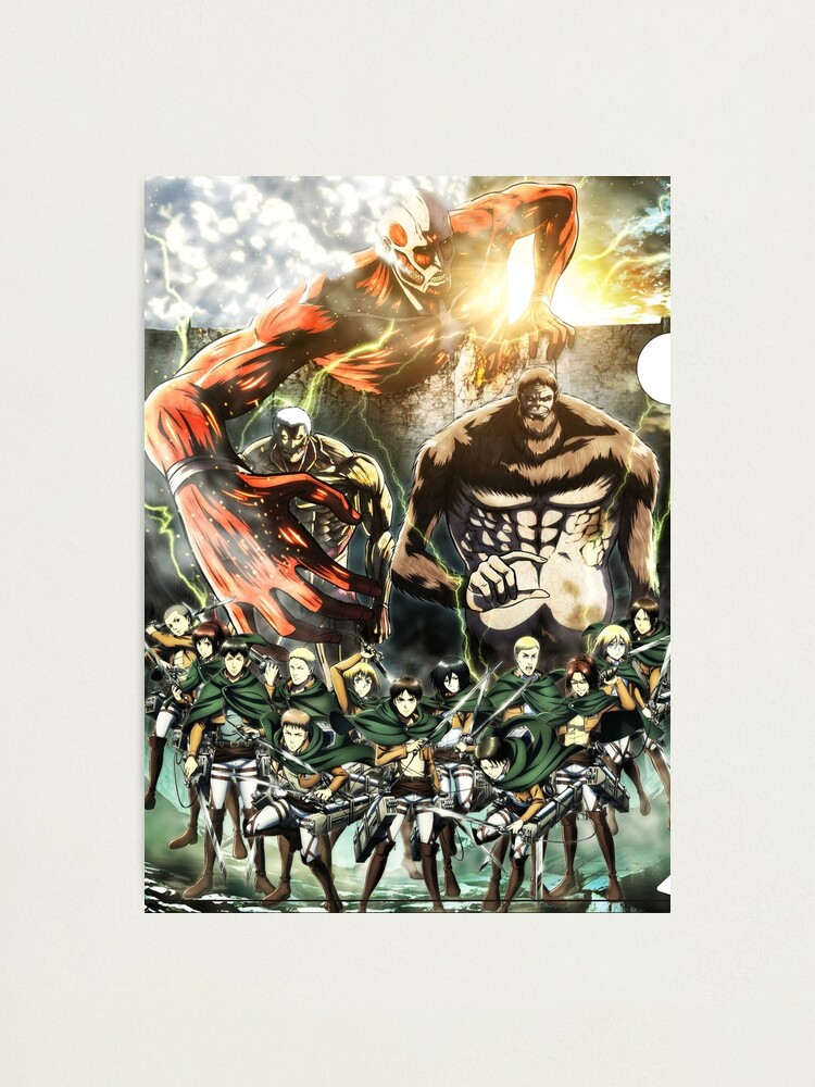 Alternate view of Attack on Titan All Photographic Print