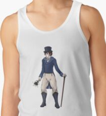 Sir Aubrey Granthorpe - Regency Fashion Illustration Men's Tank Top