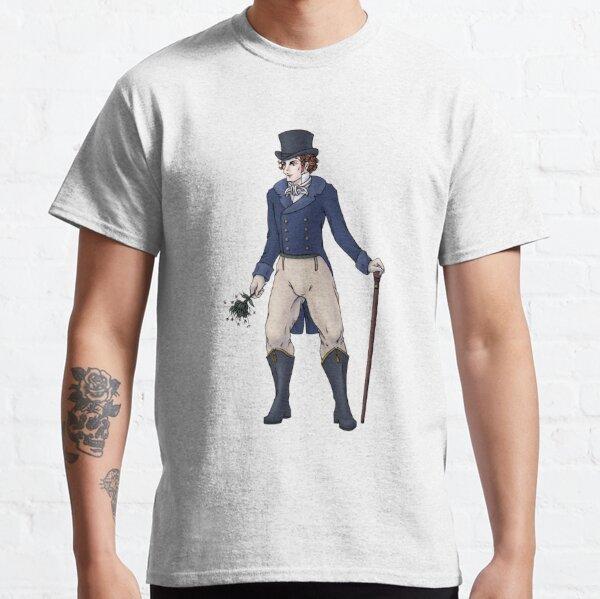 Sir Aubrey Granthorpe - Regency Fashion Illustration Classic T-Shirt