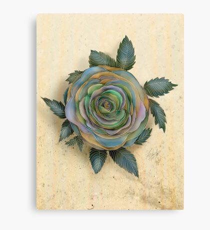 The Friendship Rose I Canvas Print