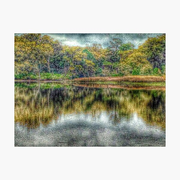 Reflections at High Tide Photographic Print