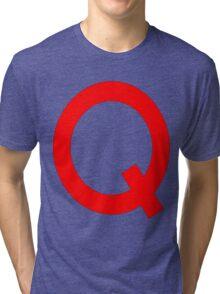 Quailman Shirt | By Douglas FRESH (AKA Doug Funny) Tri-blend T-Shirt