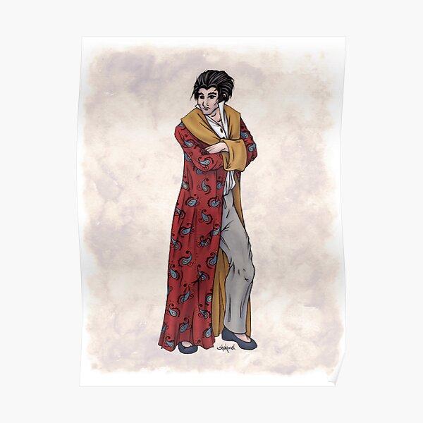 Lord William Rathmell - Regency Fashion Illustration Poster