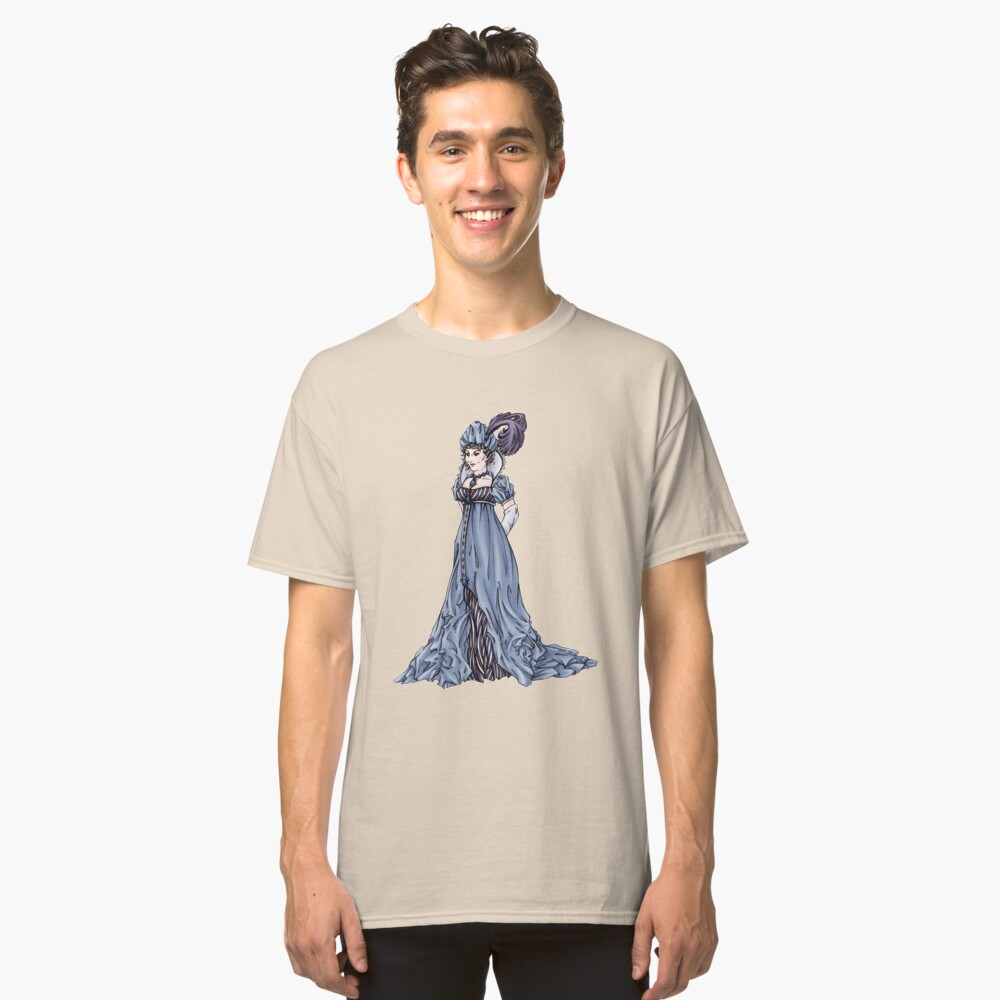 The Dowager Marchioness of Lavington - Regency Fashion Illustration Classic T-Shirt