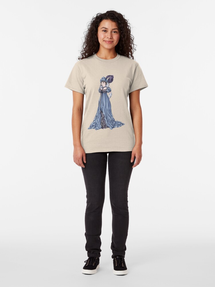 Alternate view of The Dowager Marchioness of Lavington - Regency Fashion Illustration Classic T-Shirt