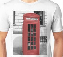 Red Phonebox Unisex T-Shirt