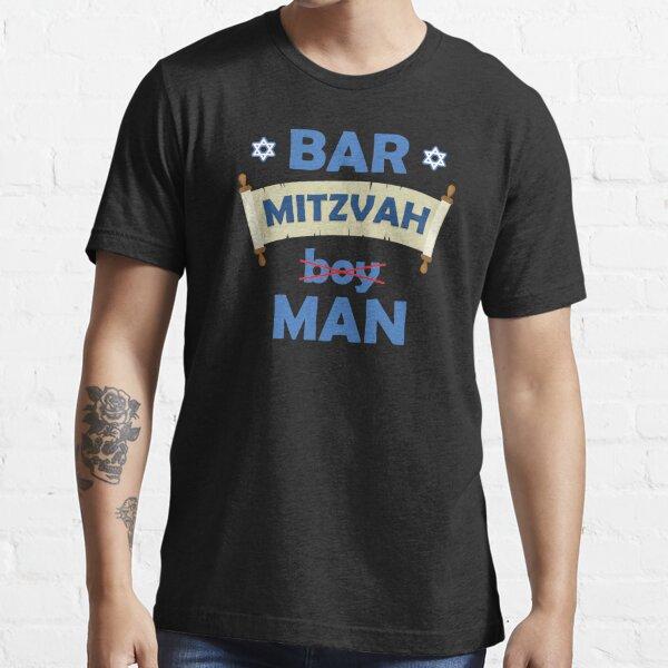 Funny Jewish Star Of David Scroll Bar Mitzvah Boy product Essential T-Shirt