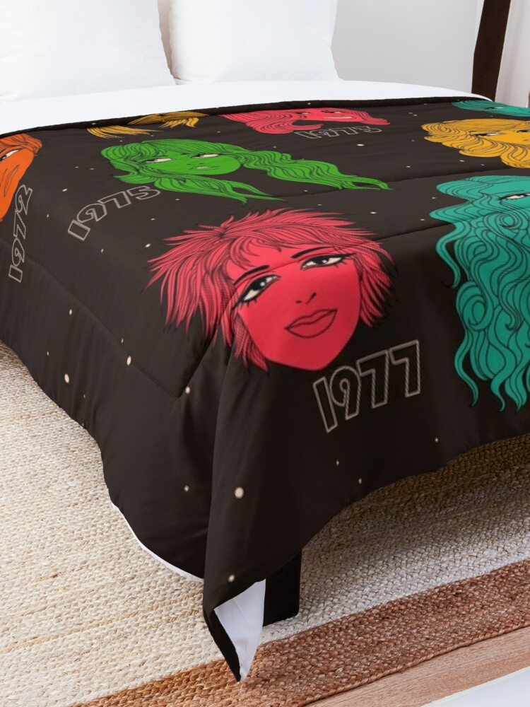 Alternate view of 1970s hairstyles  Comforter
