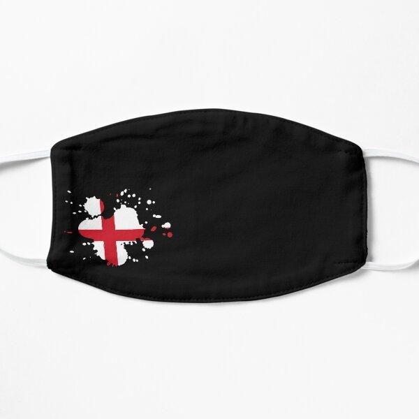 Discreet Flag Splat #5 - England Face mask Flat Mask